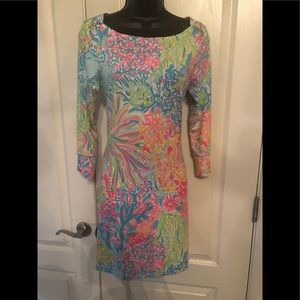Lilly Pulitzer multicolor stretch dress size S
